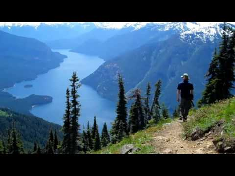 Ross Lake Desolation Peak North Cascades Washington State