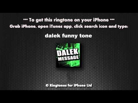 Dalek Funny Comedy Message Alert Tone video
