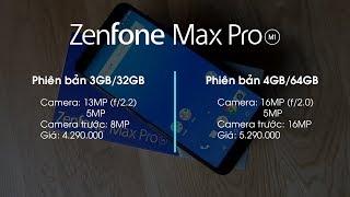 Zenfone Max Pro M1 phiên bản RAM 4GB có gì hơn phiên bản RAM 3GB?