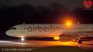 Night Planespotting│Germany, Berlin-Tegel TXL 02.12.15