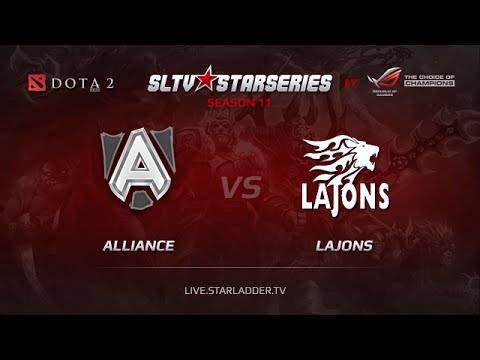 Alliance -vs- Lajons, SLTV Europe Day 15, Game 6