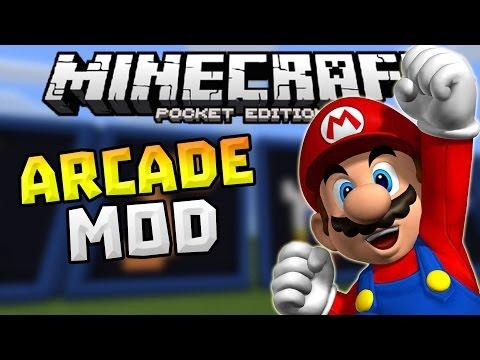 MINIGAMES in 0.12.1!!! - Arcade Mod in MCPE - Minecraft PE (Pocket Edition)