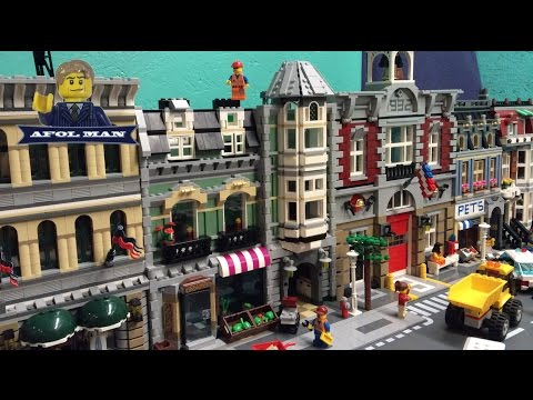 BUILDING THE LEGO GREEN GROCER ( 10185 ) PIECE BY PIECE Update 3
