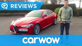 Alfa Romeo Giulia 2017 Saloon review | Mat Watson Reviews
