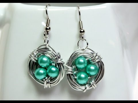 How To Make Bird's Nest Jewelry video