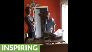 Man brought to instant tears from shocking Christmas surprise