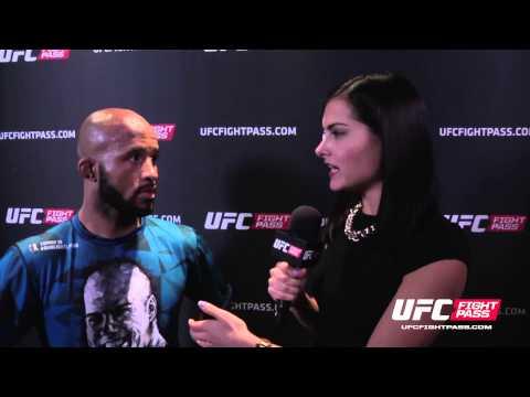 UFC 186: Demetrious Johnson Backstage Interview