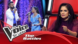 The Battles : Shanadee Rohana V Thamara Darshana | Kavi See Pada Ahena Raata | The Voice Sri Lanka