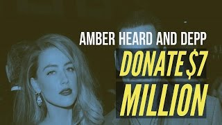 Amber Heard To Donate $7 Million Depp Divorce Settlement To Charities