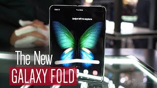 Updated Samsung Galaxy Fold 5G hands on