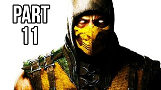 Mortal Kombat X Walkthrough Gameplay Part 11 - Scorpion - Story Chapter 9 (60FPS 1080p)