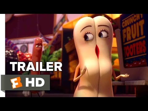 Sausage Party Official Trailer #1 (2016) - Seth Rogen. James Franco Animated Movie HD