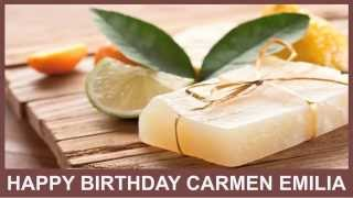 Carmen Emilia   Birthday Spa - Happy Birthday