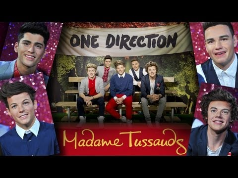 One Direction Wax Figures Revealed - Can You Tell Which Are Real?