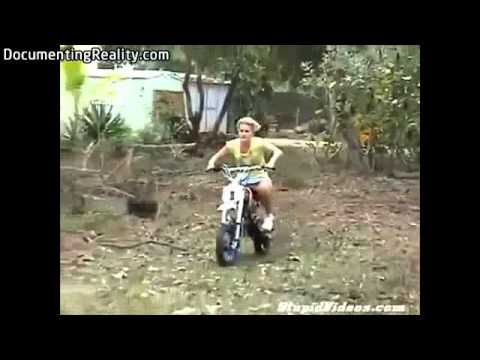 Idiots on motorbikes