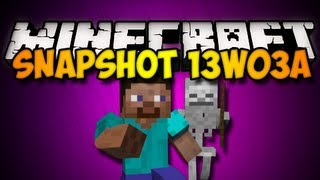 Minecraft Snapshot 13w03a - DROPPER BLOCK, UPDATED MOBS, & MORE! (HD)