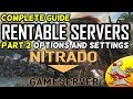 ARK complete guide to hosting nitrado servers part 2 settings and options