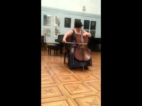 Хачатурян Арам Ильич - Соната-фантазия для виолончели соло
