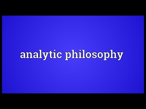Header of Analytic Philosophy