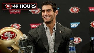 49 Hours: Inside Jimmy Garoppolo's Contract Extension
