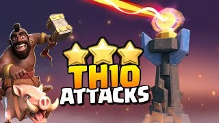 Best Quality TH10 Attacks???Elite Gaming vs OneHive | Clash of Clans