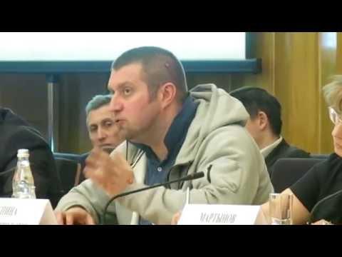 Дмитрий Потапенко - выступление на круглом столе Импортозамещение в промышленности Москвы