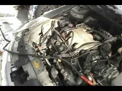 1999 Oldsmobile Alero GL (attempt to start with blown engine)