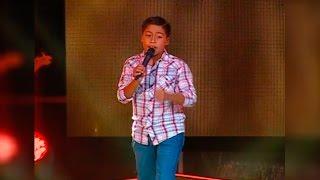 "Nicolás canta ""Mechita"" | La Voz Kids Perú | Audiciones a ciegas | Temporada 3"