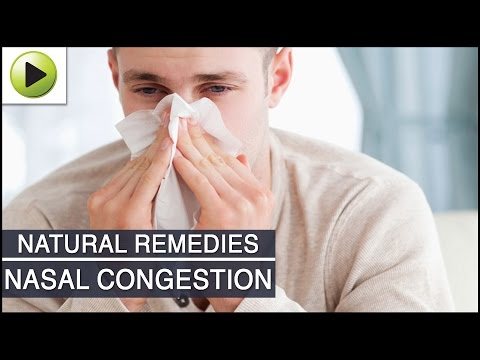 Nasal Congestion - Natural Ayurvedic Home Remedies