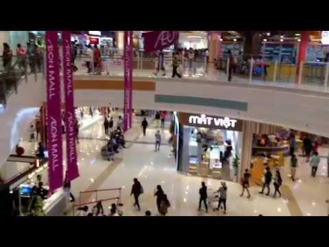 Aeon mall Bình Dương Canary ngày khai trương