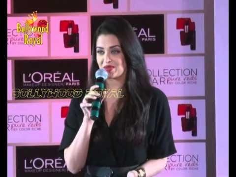 Aishwarya Rai Bachchan Launch of  L Oreal Paris 'Star Pure Reds'  1