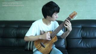 (Lee Seung Chul) 서쪽하늘 : West Sky - Sungha Jung (guitarlele)