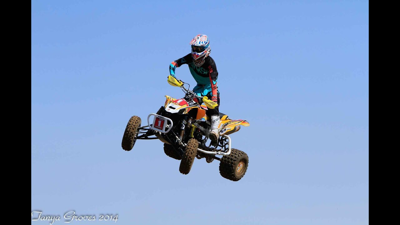 2014 can am ds 450 national race quad   tyler summers 414 helmet cam   youtube