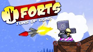 DOMINATING FIRE MISSILES! - Forts Multiplayer Gameplay