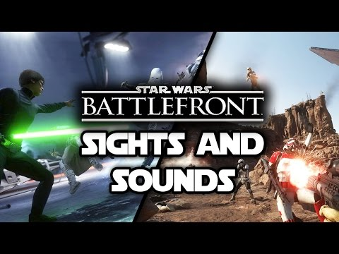 Sights & Sounds of Star Wars Battlefront 3: Weapons & Vehicles Showcase! (E3 2015 Gameplay)