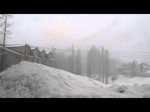 Gulmarg snow fall