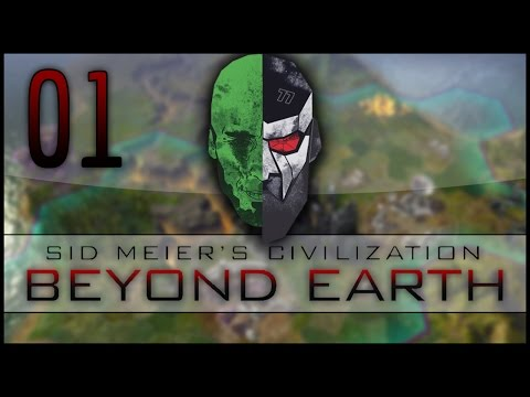 Civilization: Beyond Earth Co-op LP — MadDjinn and Docm77 take on the Aliens — EP01
