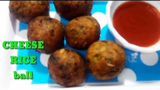 Cheese Rice Ball/Stuffed cheese Rice cutlet