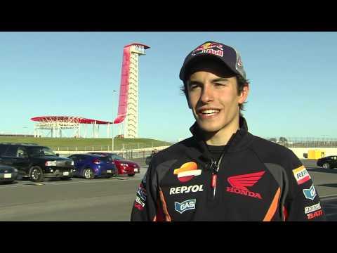 Marc Márquez: declaraciones día 1 Test MotoGP Austin - Texas