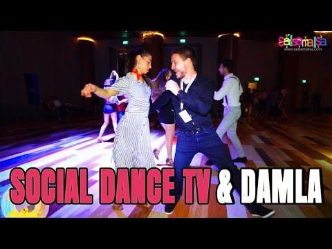 Social Dance Tv Kirill & Damla Turgut  | EDF-2018