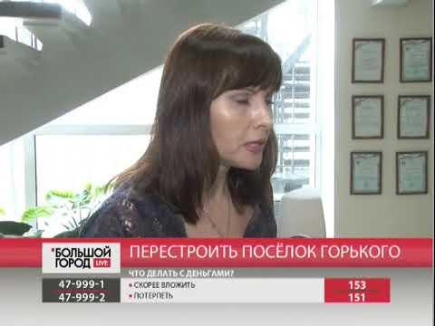Перестроить посёлок Горького. Большой город. live. 11/04/2018. GuberniaTV