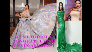 WUMI TORIOLA CONGRATULATED TOYIN ABRAHAM ON HER AMVCA WIN/DO YOU THINK IT GENUINE????