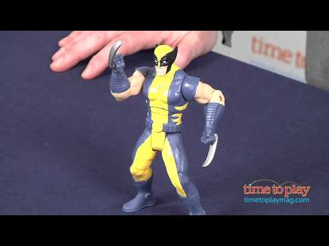 Marvel Avengers Assemble Mighty Battlers Tornado Claw Wolverine from Hasbro