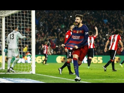 GOALS | BARCELONA 3 vs 1 ATHLETIC BILBAO | 27/01/2016