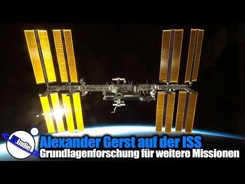 Alexander Gerst auf der ISS: Grundlagenforschung für weitere Missionen (Live-Stream vom 06.06.2018)