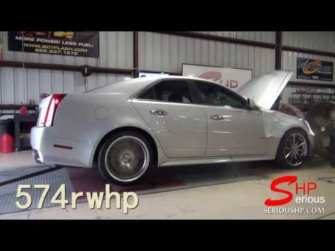 Cadillac CTS-V : Pulley Upgrade and Engine Programming 574 Rwhp / Hous