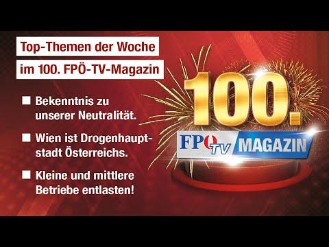 FPÖ-TV-Magazin 23.10.2014 - 100. Sendung