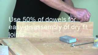 Raised Panel Walls with Dowels - Reface a Bathroom Vanity with Dowelmax Pt. 4