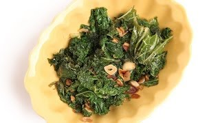 Spicy Garlic Kale Recipe - Laura Vitale - Laura in the Kitchen Episode 684
