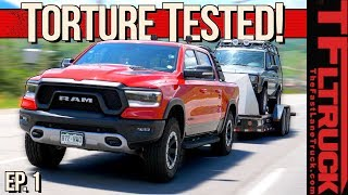 Ram Rebel and Rotella Gas Truck Oil Take On The World's Toughest Towing Test! Ep.1.